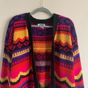 Vintage Xtra Points Cardigan